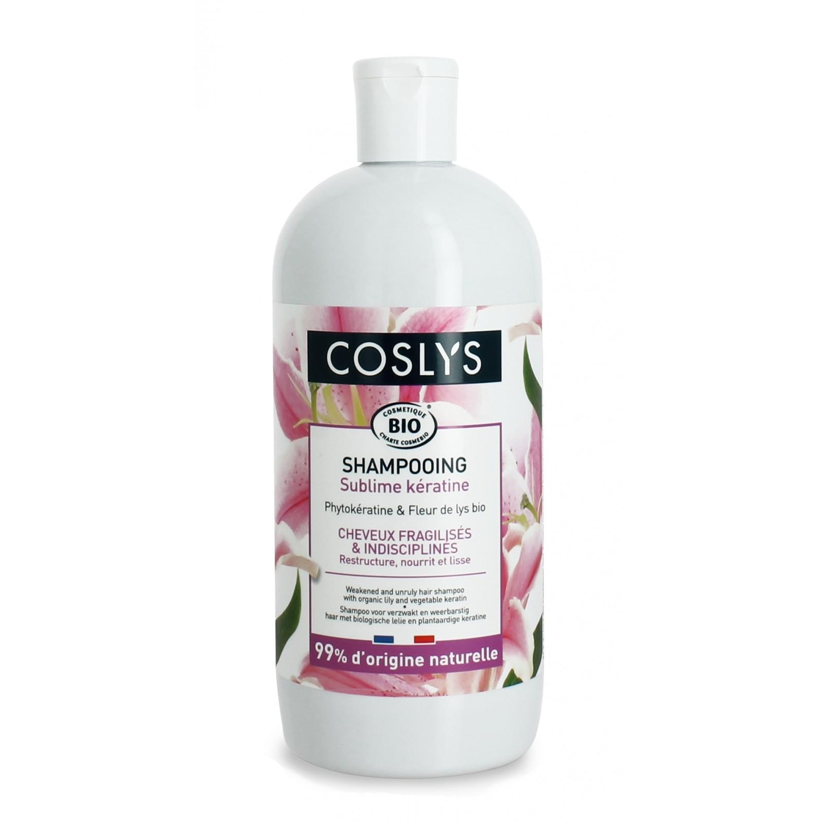 COSLYS Shampoing cheveux fragilisés et indisciplinés BIO - 500 ml