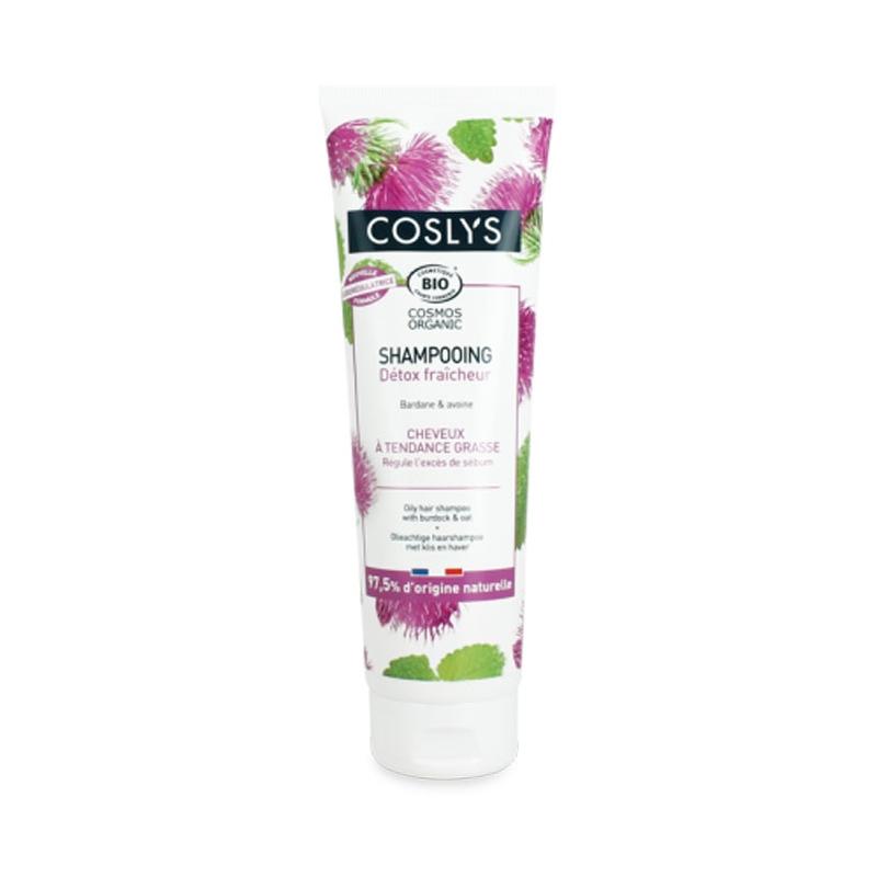 COSLYS Shampoing cheveux à tendance grasse BIO - 250 ml