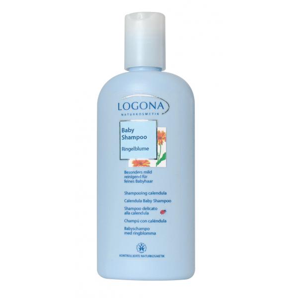 LOGONA Bébé shampooing doux au calendula, 200 ml