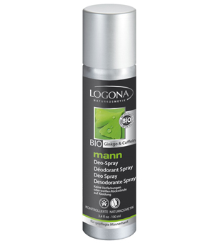 Logona Homme Mann déodorant - spray 100 ml