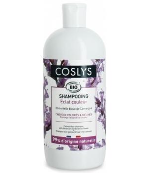 COSLYS Shampoing cheveux colorés et méchés BIO - 500 ml