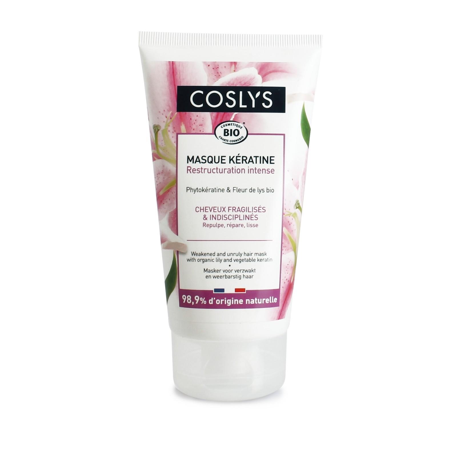COSLYS Masque cheveux fragilisés et indisciplinés BIO - 150 ml