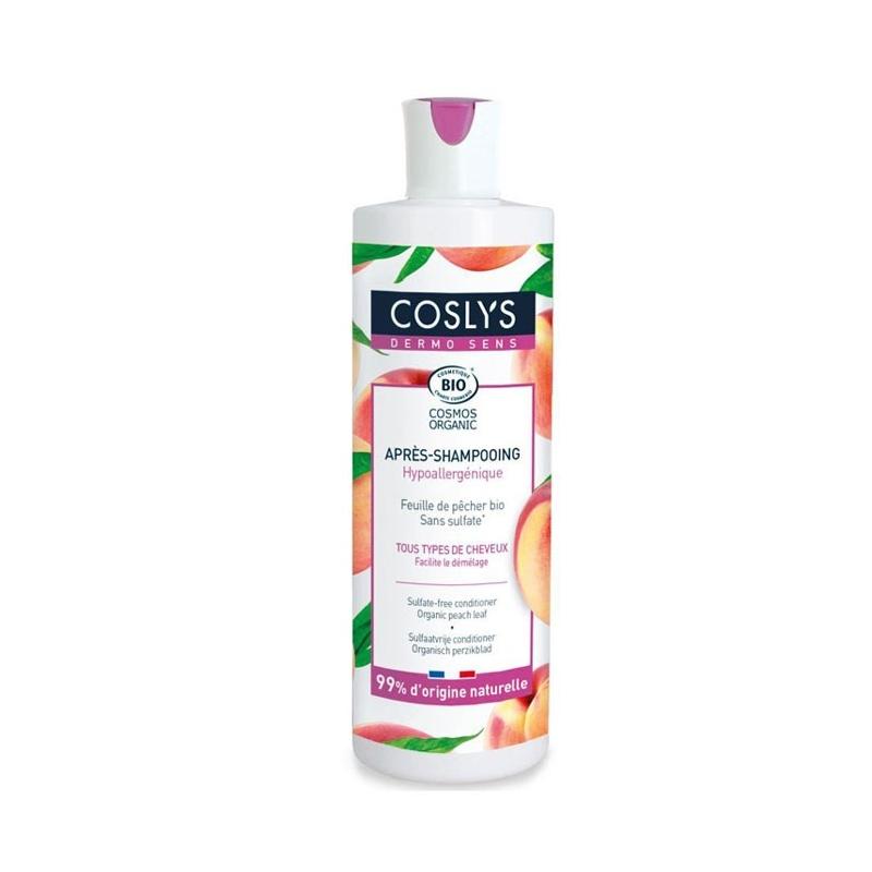 COSLYS Après-shampoing Dermo Sens Feuille de pêcher - 380 ml