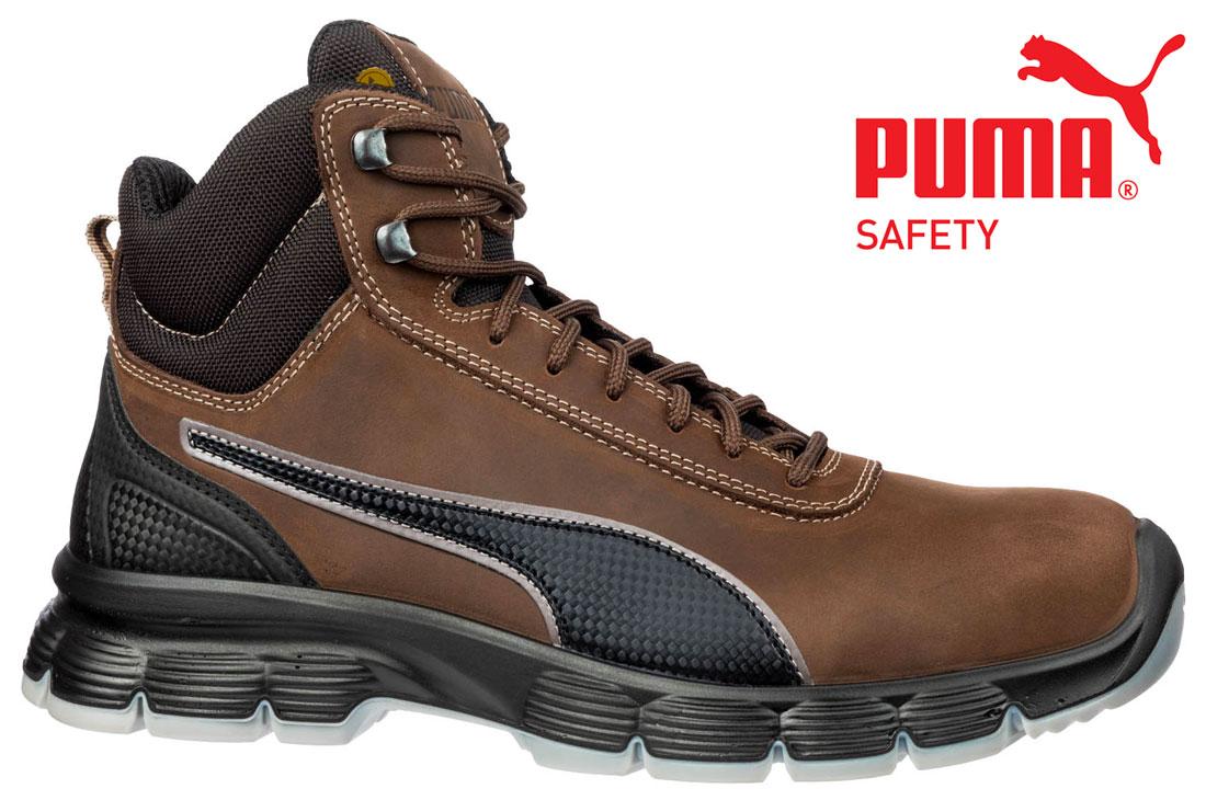 Chaussure de sécurité CONDOR Brown MID Puma S3