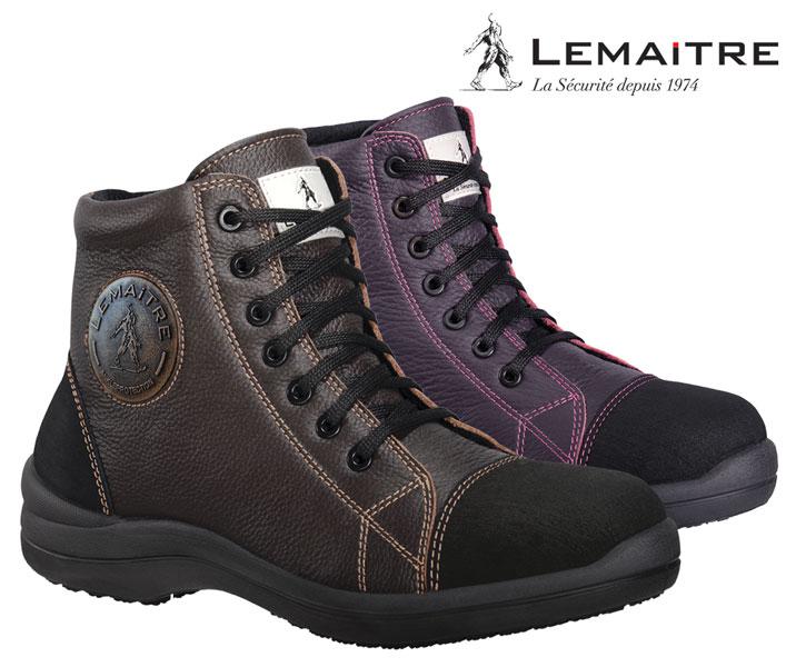 Chaussure de sécurité femme LIBERTY haute Lemaitre S3