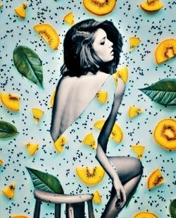femme citron