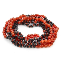 Bracelet agate multirang long
