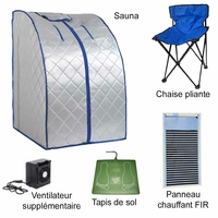 Sauna-infrarouges-FIR-portable-XL-Deluxe-ventilateur-céramique-1500W-doré-SAU-15-ar-2