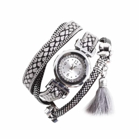 Montre bracelet quartz blanche double tour Koda