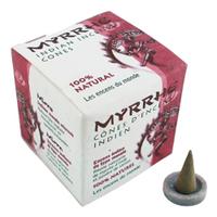Encens Indiens Haute Tradition en cônes - MYRRHE - Relaxant