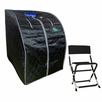 sauna-portable-infrarouges-lointains-tourmaline-FIR-IRL-complet-1000W