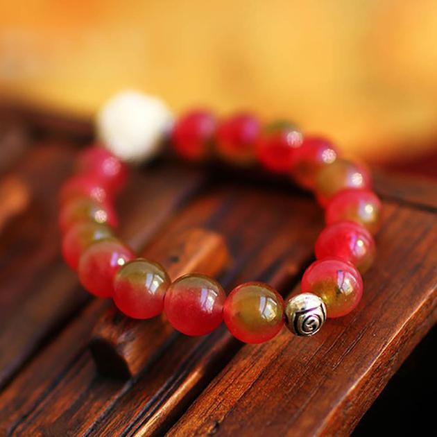 Bracelet-cristal-pastèque-Kasas-Rose-Mes-Bijoux-Bracelets-com-B0188-A6