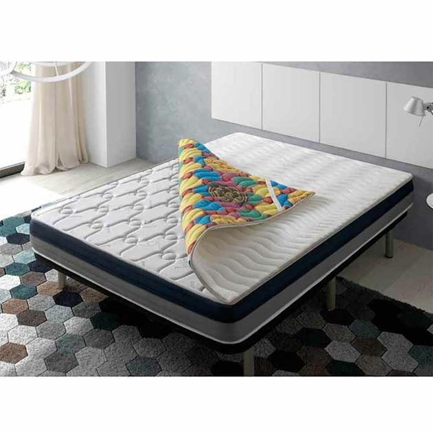 sur matelas deluxe infrarouge tourmaline 4d longueur 190. Black Bedroom Furniture Sets. Home Design Ideas