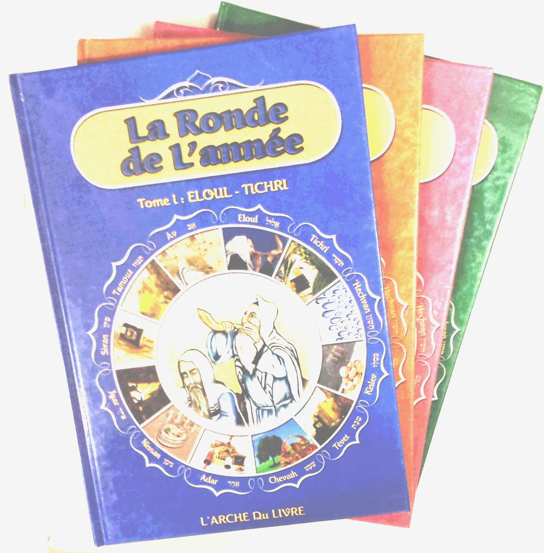 Collection La ronde de l\'année (4 volumes)