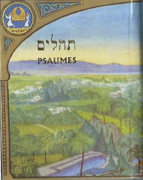Mini Psaumes (8 x 6.5 cm) traduit et lisible