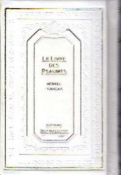 Psaumes Hébreu Français Phonétique Grand Format