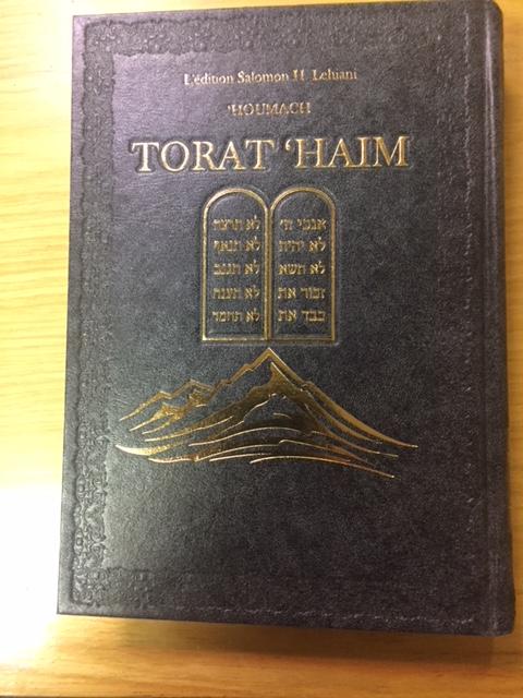 Pentateuque Torat Haim bilingue