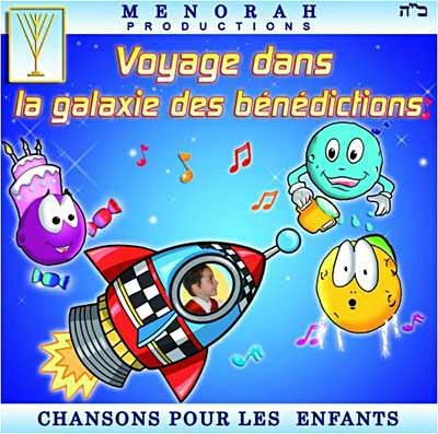 CD Voyage dans la galaxie des bénédictions