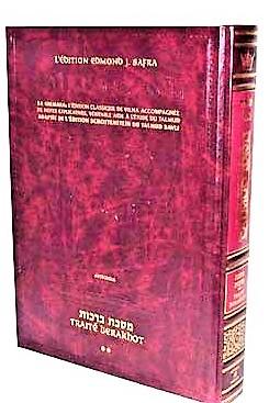 Le Talmud bilingue Artscroll Traité Berakhot Vol.2
