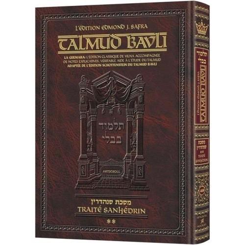 Le Talmud bilingue Artscroll Traité Sanhedrin vol 2