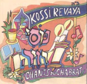 Kossi Revaya les chants de chabbat (CD seul)