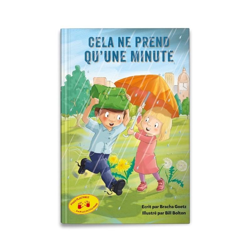 Cela ne prend qu\'une minute - livre illustré pages plastifiées