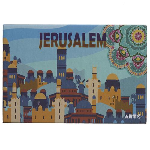 Magnet JERUSALEM