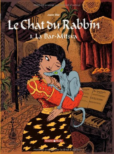 Le chat du Rabbin 1. La Bar-Mitsva Joann Sfar