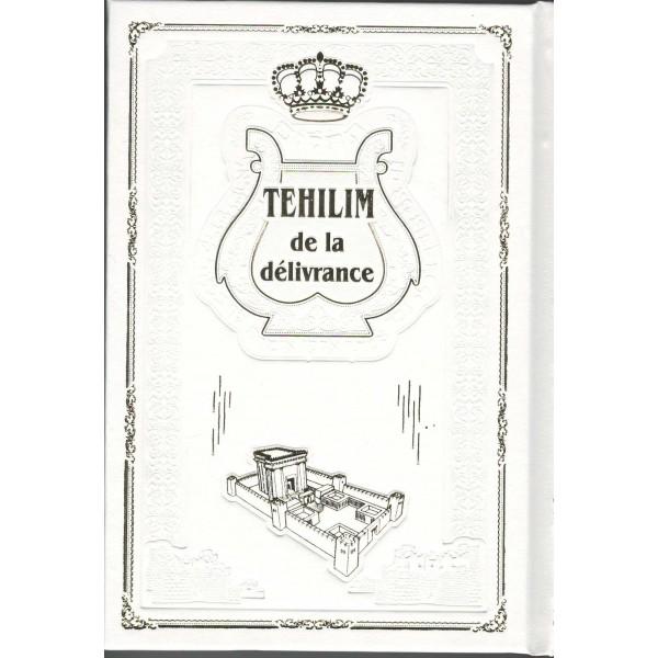 Téhilim - livre de Psaumes traduit Hébreu/Français mot à mot - Format moyen Blanc