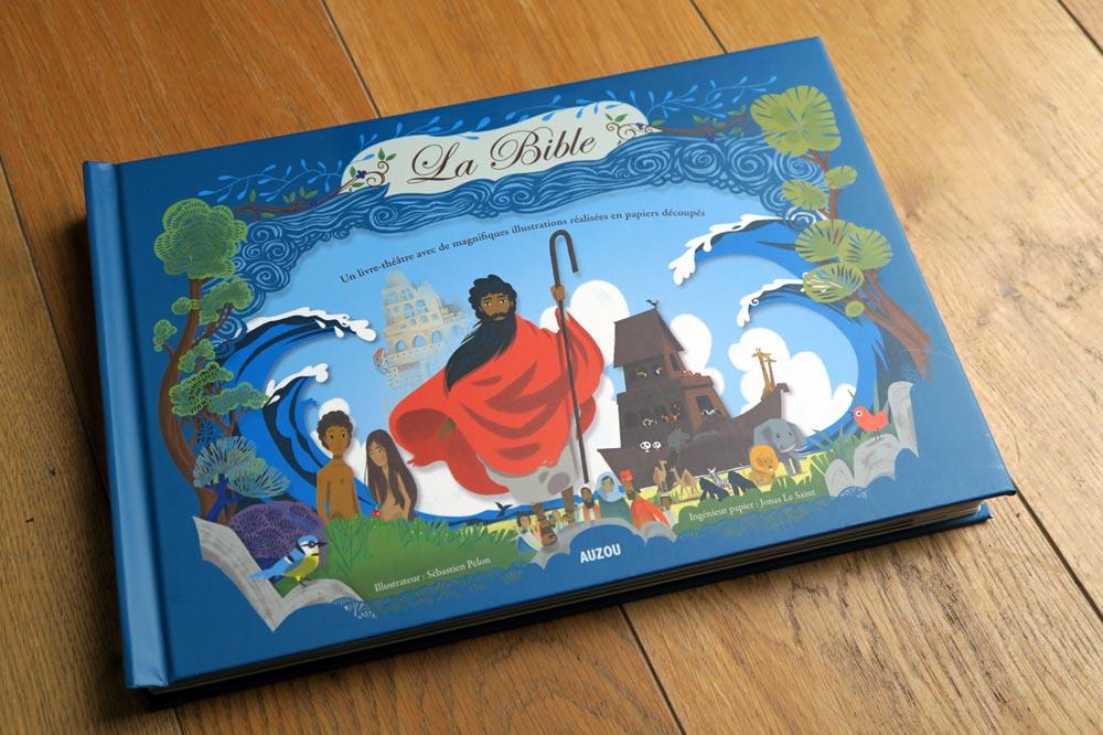 La Bible Livre Théatre - magnifiques illustrations