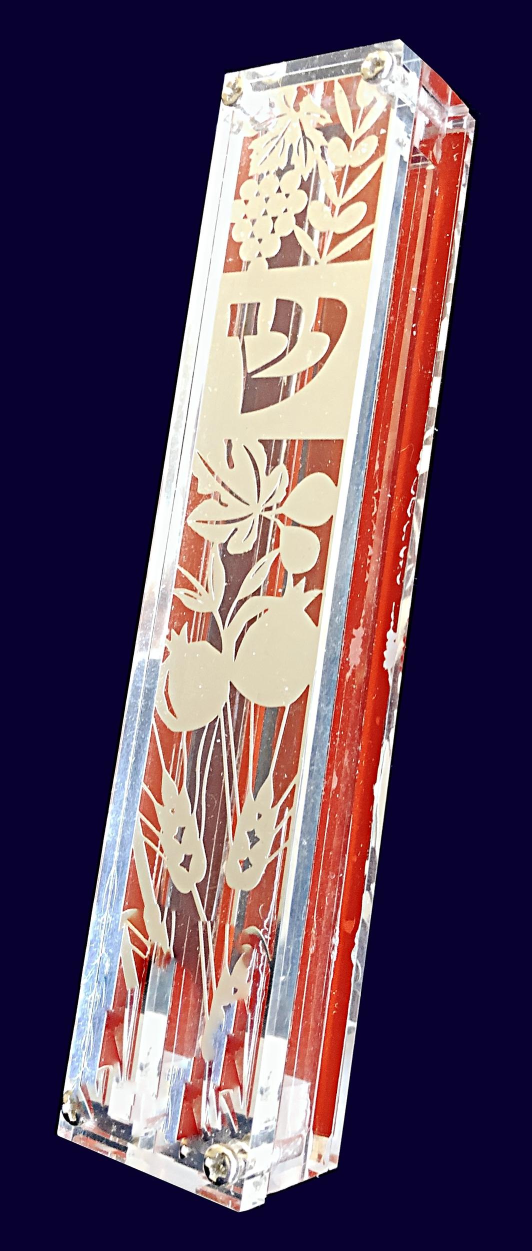 Mezouza fleurie mono 21