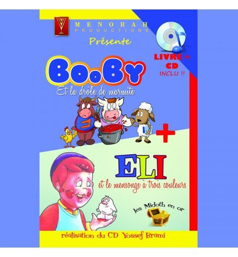 Booby et la drôle de marmite - Livre CD