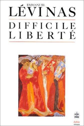 Difficile liberté d\'Emmanuel Levinas