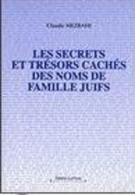 Secrets et trésors cachés des noms de familles juives