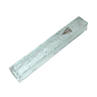 Boitier mezouza en verre design 10 cm