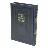 Psaumes Hébreu-Français-Phonétique Moyen format Bleu