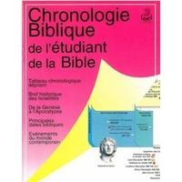 chronologie Biblique de l'étudiant de la Bible