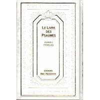 Psaumes Hébreu-Français Grand Format Blanc
