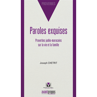 Paroles exquises proverbes judéo Marocains