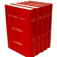 Le Pentateuque LA COLLECTION DES 5 LIVRES ( Commentaires de Rachi )