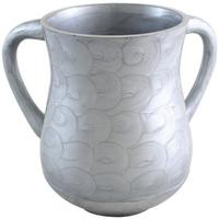 Keli aluminium et polyrésine gris clair