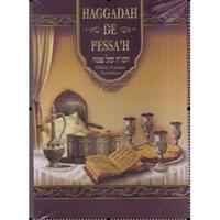Hagada hébreu français phonétique illustrée grand format couverture souple