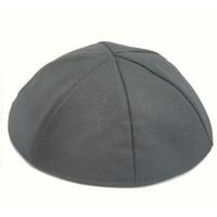 Kippa en tissu noir (Taille Moyenne)