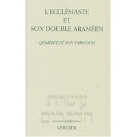 L'Ecclesiaste et son double Araméen