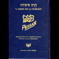 Pessah traduit et commenté collection l'arme de la parole