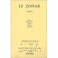 Le Zohar Genèse tome 2  de Vayéra à vayichlah