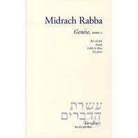 Midrach rabba vol 1 sur la genèse