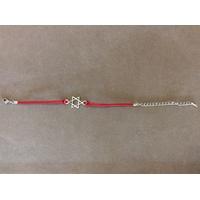 Bracelet fil rouge avec Maguen David