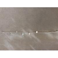 Bracelet plaqué argent  avec divers mains design