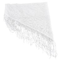 Foulard blanc dame pour synagogue